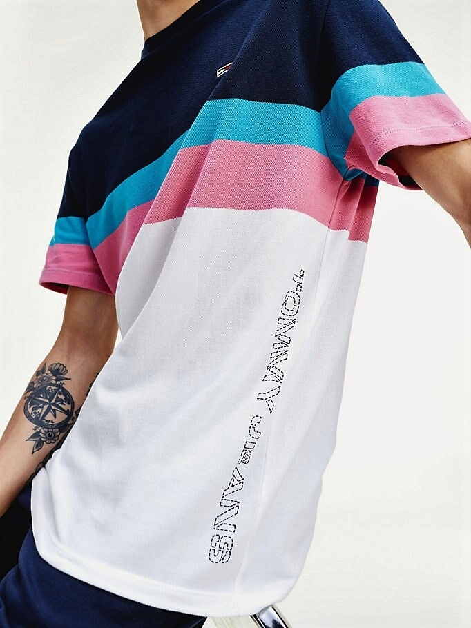 Tommy Jeans Tommy Jeans Graphic Colorblock Tee