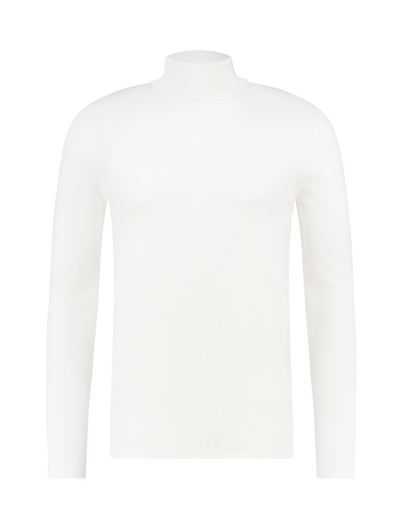 Purewhite Purewhite Essential Knit Turtleneck