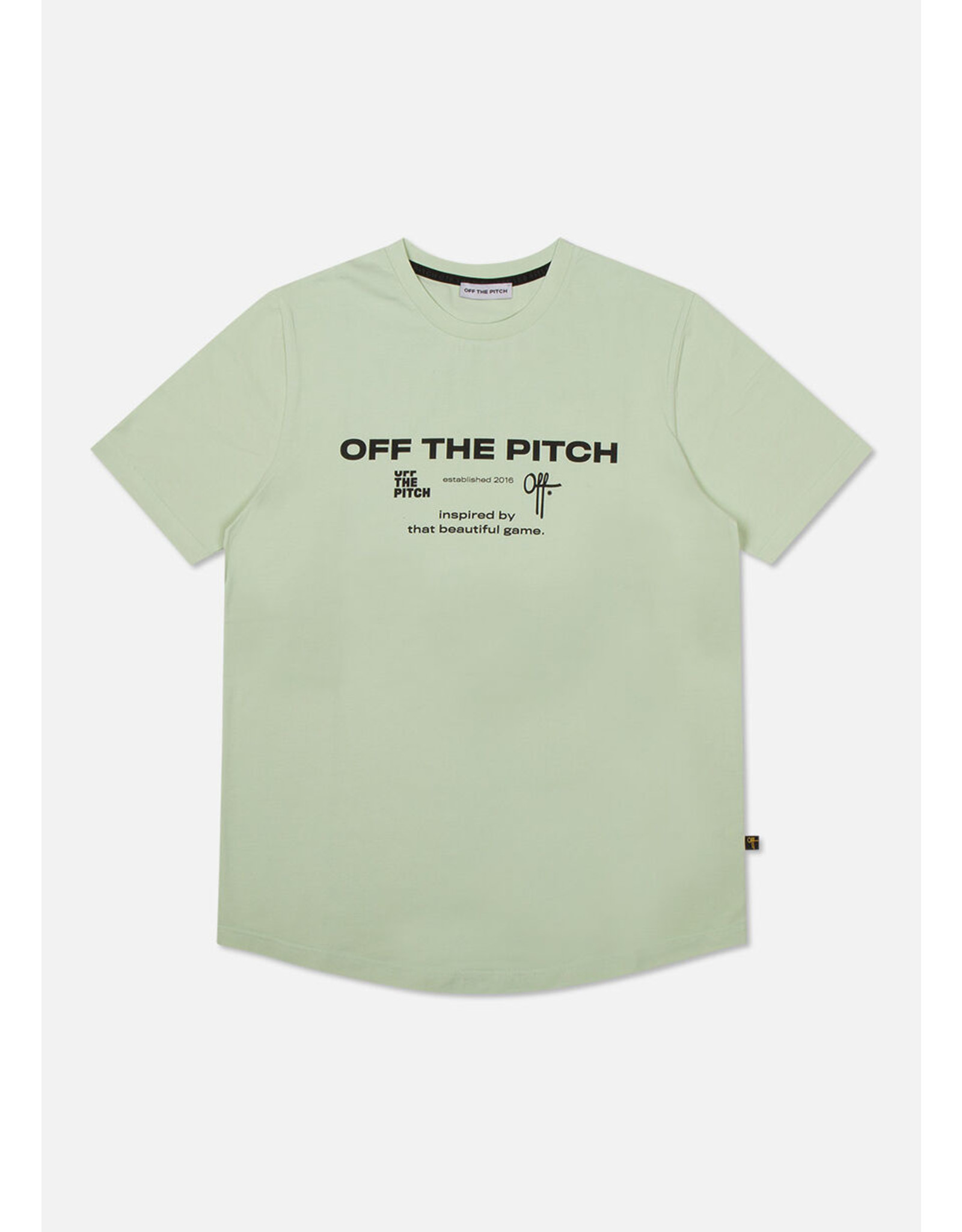 Off the pitch The Sage Slimfit Tee