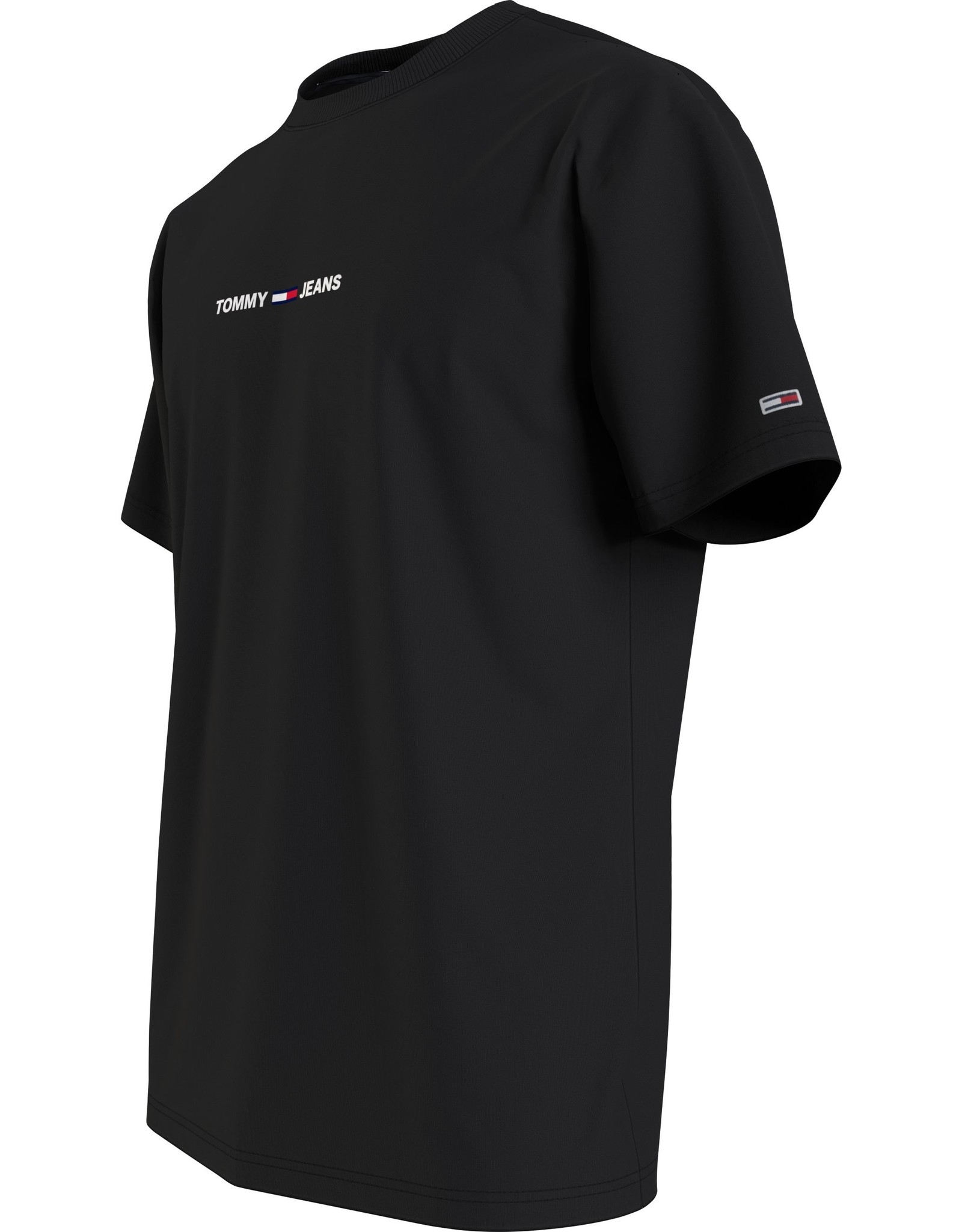 Tommy Jeans Small Logo Text Tee