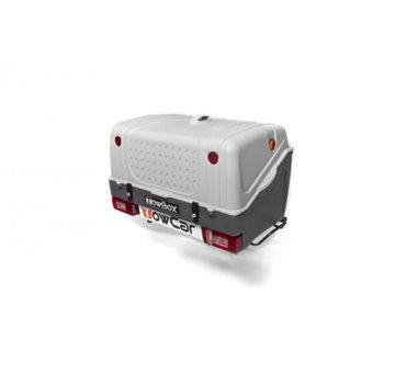 Aragon Gepäckbox für Anhängerkupplung Towbox V1 Grey Edition