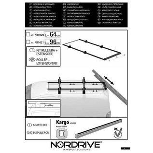 Nordrive Nordrive Leiterrolle  + Rahmen (64 cm oder 96cm  breit)