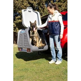 Aragon Hundetransportbox  Towbox V2 DOG Grey Edition