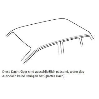 Mont Blanc RF Mont Blanc Dachträger für Volkswagen Polo 5-türig ab 2009