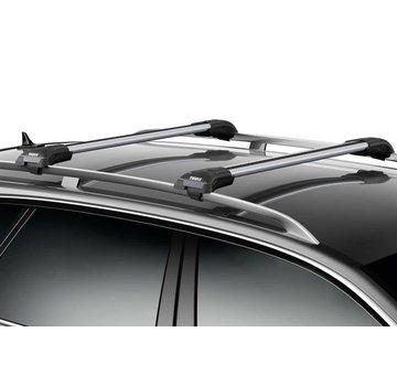 Thule edge open Dachträger Mitsubishi Outlander (MK II) SUV 2006 - 2012 - Thule