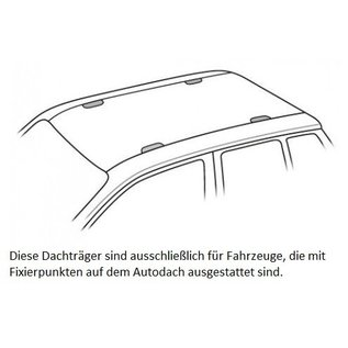 Thule 753 Thule Dachträger Citroen Berlingo 4-türig VAN (III) ab 2019 > mit Fixpunktbefestigung