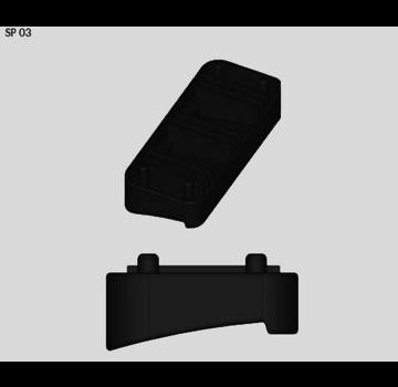Farad Zubehör Gummiauflage für FARAD BS-Set SP03