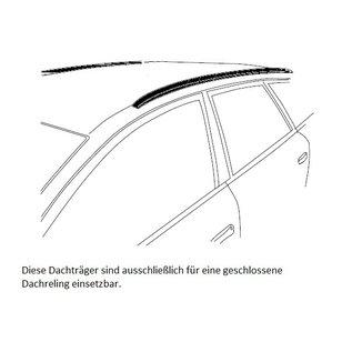 FARADBM1 Dachträger Ford Focus Active Limousine ab  2018> mit aufliegender Dachreling | FARAD