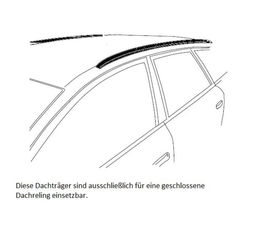 Dachträger Ford Focus Active Limousine ab  2018> mit aufliegender Dachreling | FARAD