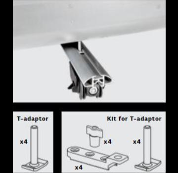 Farad Zubehör Farad T-Adapter Set M8 (12-teiliges Set)