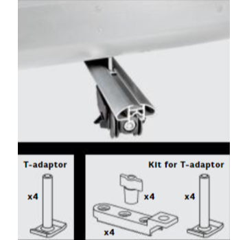 Farad Zubehör Farad T-Adapter Set M8