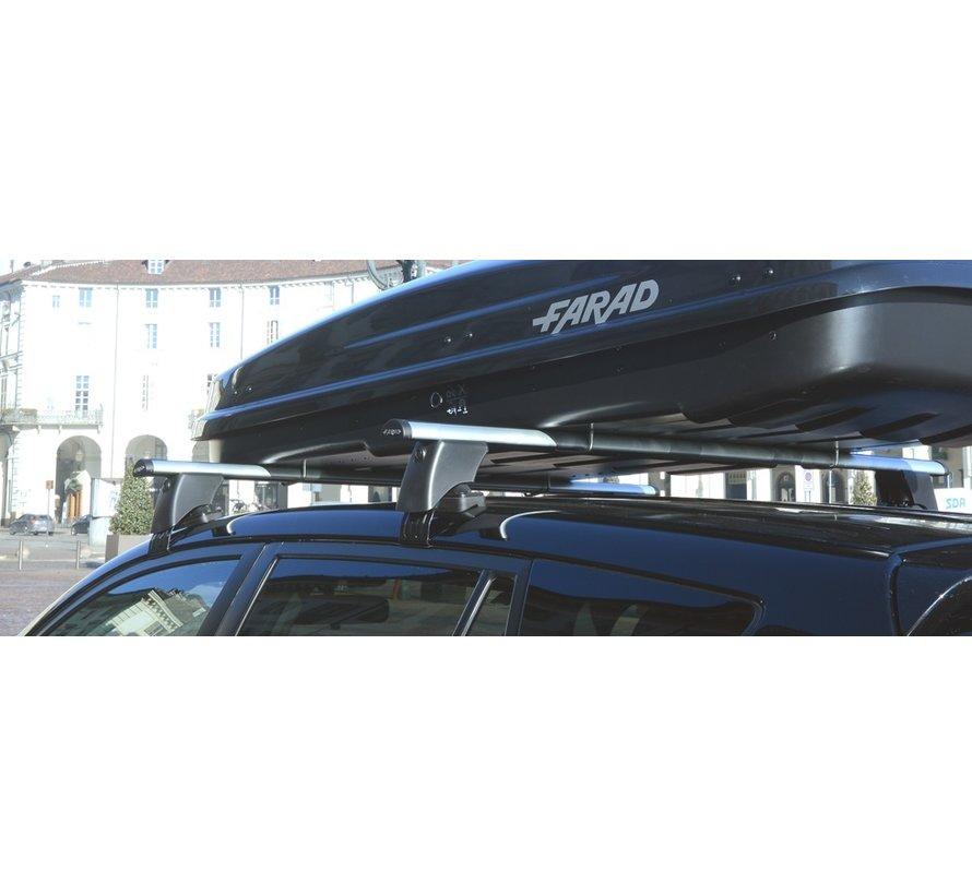 Dachträger Volkswagen Touareg SUV 2010 - 2017 mit normalem, bündigen Dach | FARAD