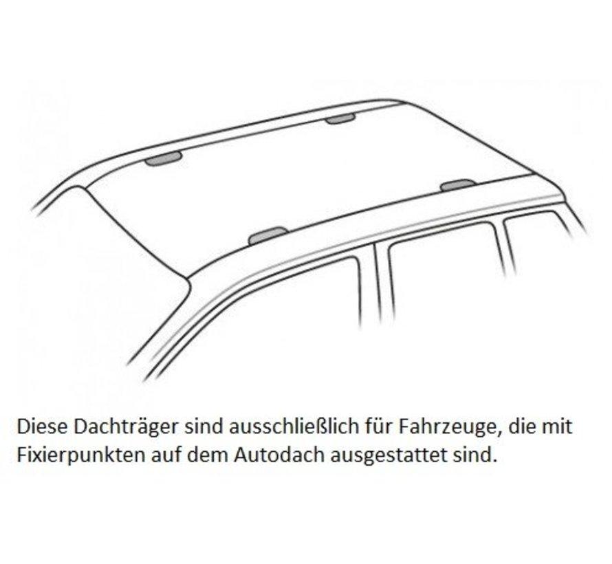 Thule Dachträger VW Transporter T6 4-türig Double Cab ab 2015>