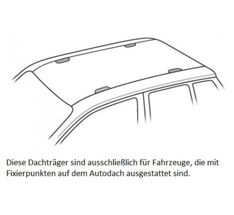 TThule Dachträger VW Transporter T6 (VAN) ab 2015>