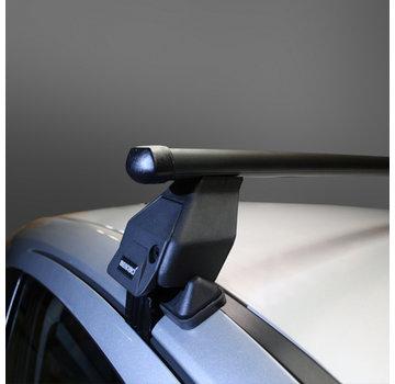 Menabo Tema Dachträger Peugeot 206 Plus 5-türig Fließheck 2009 - 2012