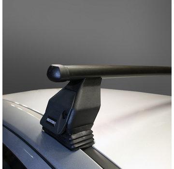 Menabo Tema Dachträger Peugeot 407 4-türig Limousine 2004 - 2012