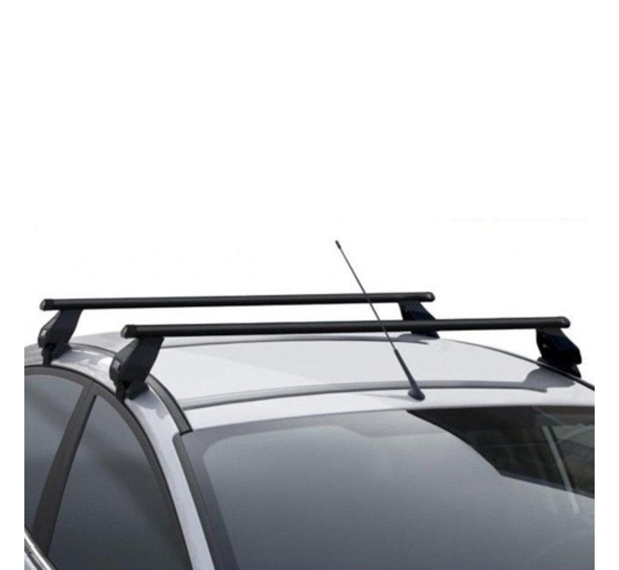 Dachträger Subaru WRX STI 4-türig Limousine ab 2017 | Menabo Tema