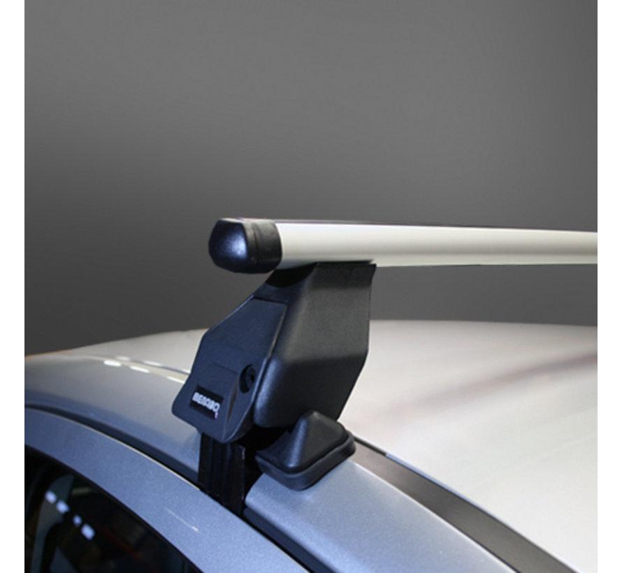 Dachträger Volkswagen Touareg II (7P) MPV 2010 - 2013   Menabo Tema