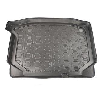 Cikcar Maßgefertigte Kofferraum-Schutzmatte für Seat Leon 5-türig Fließheck ab 2013