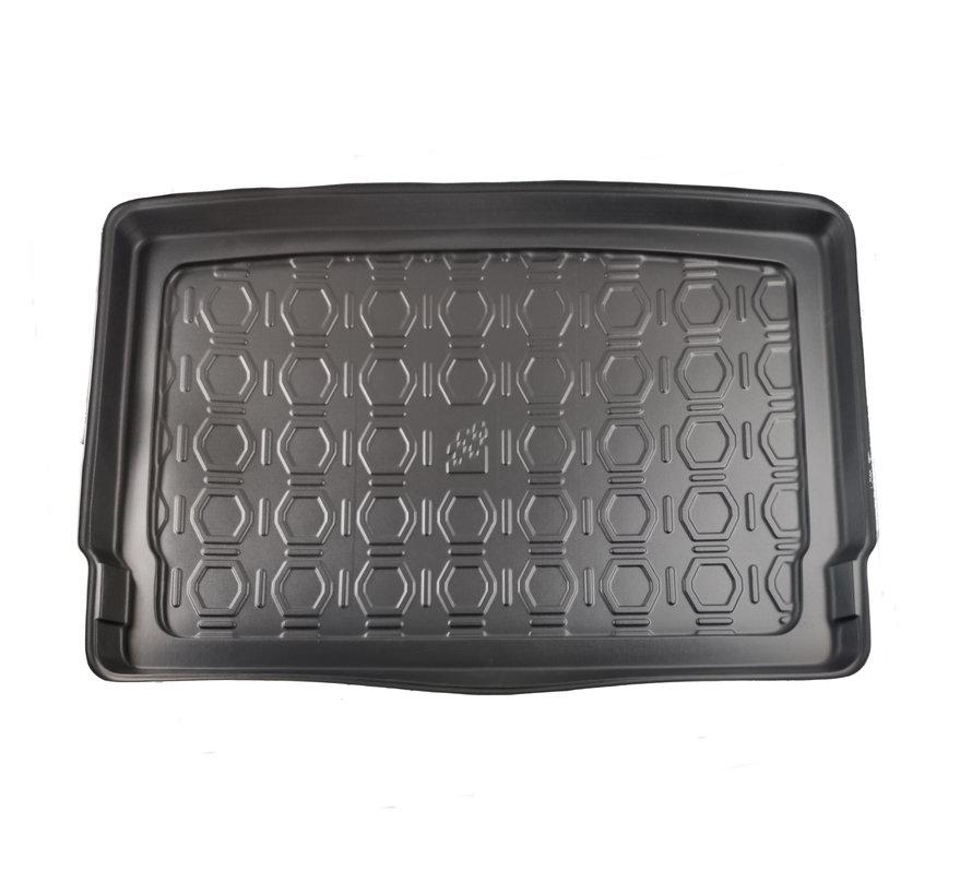Maßgefertigte Kofferraum-Schutzmatte für Volkswagen Golf VII (erhöhter Boden) 5-türig Fließheck ab 2012