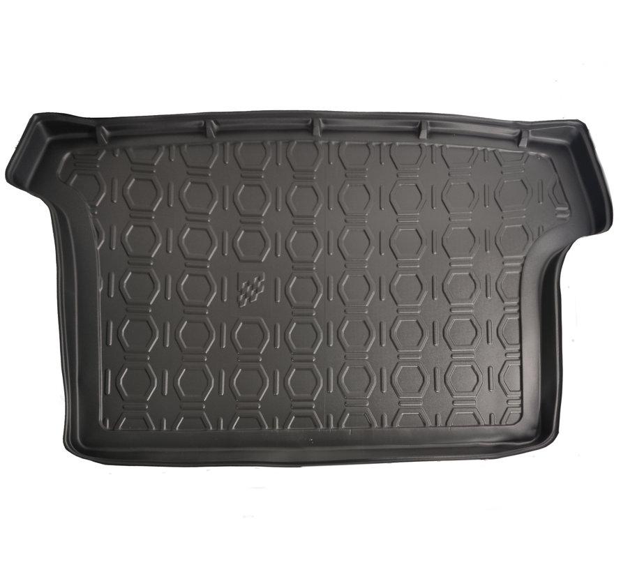 Maßgefertigte Kofferraum-Schutzmatte für Volkswagen T-Roc (erhöhter Boden) SUV ab 2017
