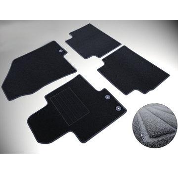 Cikcar Fußraummatten Passform-Fußraummatten-Set für Volkswagen Touran fix oval ab 05.2003