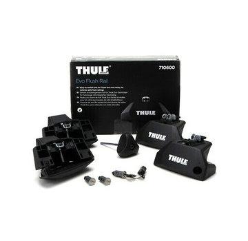 Thule Ersatzteile Thule Evo Clamp 7106 - Fußset für Thule Dachträger | Geeignet für die aufliegende Dachreling