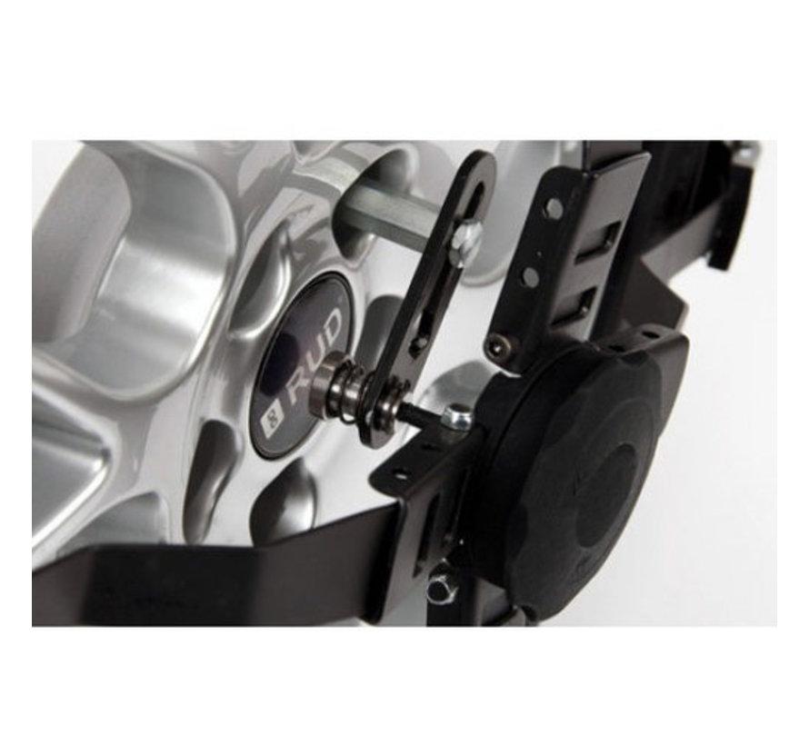 RUD Centrax Lauffächenschneekette für PKW | Reifengröße 215/80R14