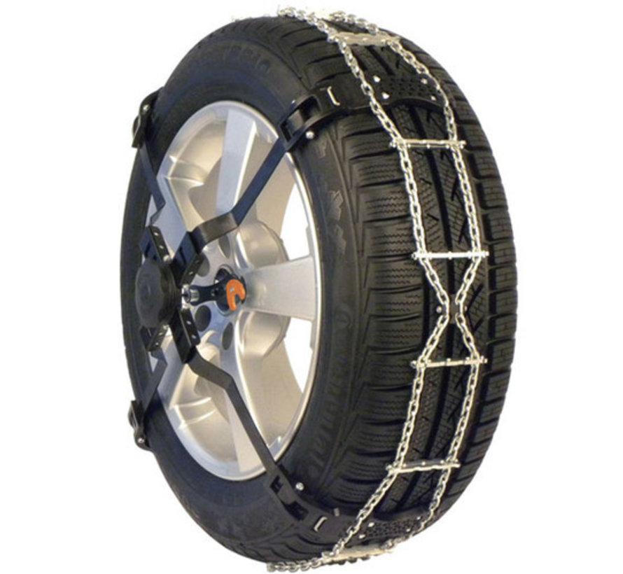 RUD Centrax Lauffächenschneekette für PKW | Reifengröße 225/55R14