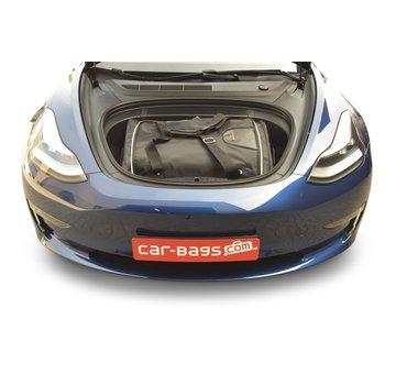 CAR-Bags CAR-BAGS Auto-Reisetaschenset für Tesla Model 3 2017> 4-türig Limousine (Kofferraum vorne)