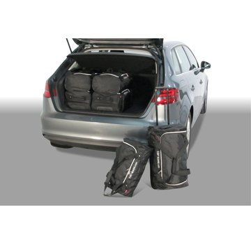 CAR-Bags CAR-BAGS Auto-Reisetaschenset für Audi A3 Sportback (8V) E-Tron 2014> 5-türig Fließheck
