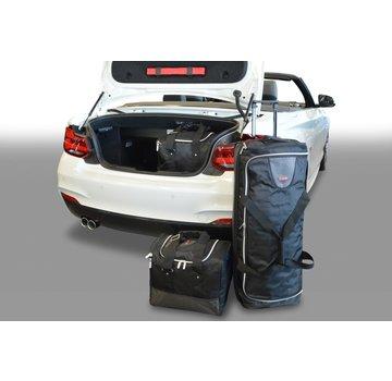 CAR-Bags CAR-BAGS Auto-Reisetaschenset für BMW 2er Serie Cabrio (F22-F23) 2014>