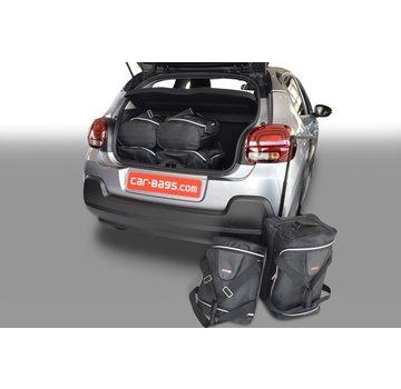 CAR-Bags CAR-BAGS Auto-Reisetaschenset für Citroën C3 III 2016> 5-türig Fließheck