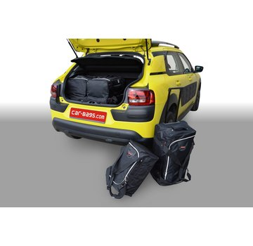 CAR-Bags CAR-BAGS Auto-Reisetaschenset für Citroën C4 Cactus 2014-2018 5-türig Fließheck