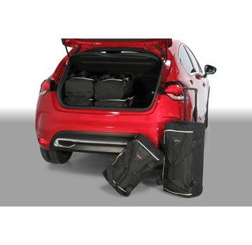 CAR-Bags CAR-BAGS Auto-Reisetaschenset für Citroën DS4 2011-2018 5-türig Fließheck