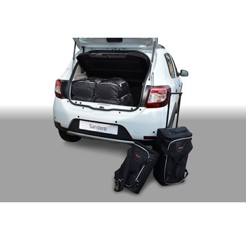 CAR-Bags CAR-BAGS Auto-Reisetaschenset für Dacia Sandero 2012> 5-türig Fließheck