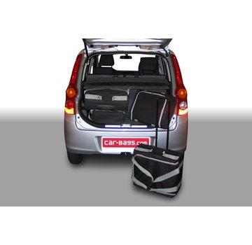 CAR-Bags CAR-BAGS Auto-Reisetaschenset für Daihatsu Cuore L276 2007-2012 5-türig Fließheck
