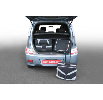 CAR-Bags CAR-BAGS Auto-Reisetaschenset für Daihatsu Materia 2007-2016 5-türig Fließheck