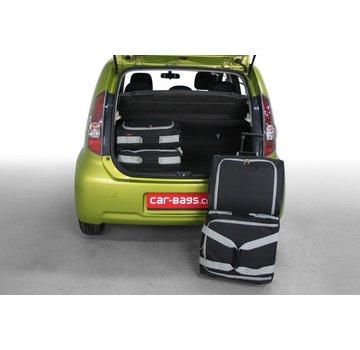 CAR-Bags CAR-BAGS Auto-Reisetaschenset für Daihatsu Sirion M3# 2005-2010 5-türig Fließheck
