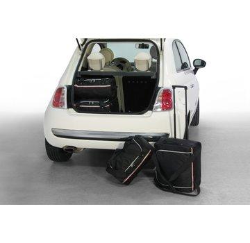 CAR-Bags CAR-BAGS Auto-Reisetaschenset für Fiat 500 (+ Cabrio) 2007> 3-türig Fließheck