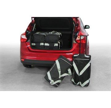 CAR-Bags CAR-BAGS Auto-Reisetaschenset für Ford Focus III 2010-2018 5-türig Fließheck (neues Design)