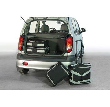 CAR-Bags CAR-BAGS Auto-Reisetaschenset für Hyundai Atos 1999-2008 5-türig Fließheck