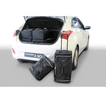 CAR-Bags CAR-BAGS Auto-Reisetaschenset für Hyundai i30 (GD) 2012-2016 5-türig Fließheck