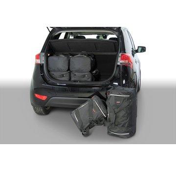 CAR-Bags CAR-BAGS Auto-Reisetaschenset für Hyundai ix20 2010-2019 5-türig Fließheck