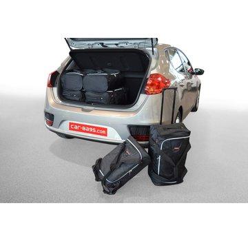 CAR-Bags CAR-BAGS Auto-Reisetaschenset für Kia Cee'd (JD) 2012-2018 5-türig Fließheck