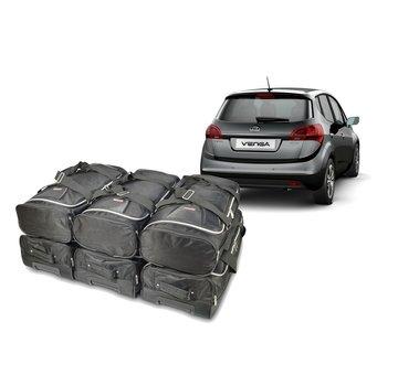 CAR-Bags CAR-BAGS Auto-Reisetaschenset für Kia Venga (DY) 2009-2019 5-türig Fließheck