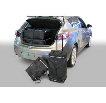 CAR-Bags CAR-BAGS Auto-Reisetaschenset für Mazda3 (BL) 2009-2013 5-türig Fließheck
