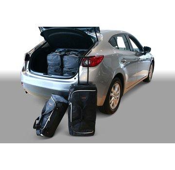 CAR-Bags CAR-BAGS Auto-Reisetaschenset für Mazda3 (BM) 2013-2019 5-türig Fließheck