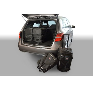 CAR-Bags CAR-BAGS Auto-Reisetaschenset für Mercedes B-Klasse (W246) 2011-2018 5-türig Fließheck