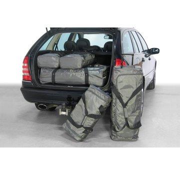 CAR-Bags CAR-BAGS Auto-Reisetaschenset für Mercedes C-Klasse Estate (S203) 2001-2007 Kombi